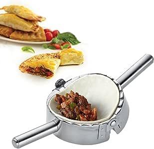 Best Utensils Stainless Steel Ravioli Mold Pierogi Dumpling Maker Wrapper Pastry Dough Cutter Kitchen Accessories (S: 3 1/4 inch) (Medium)