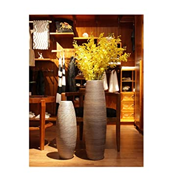 Floor Vases For Living Room.Amazon Com Yjwoz Living Room Floor Vase Ornament Decoration