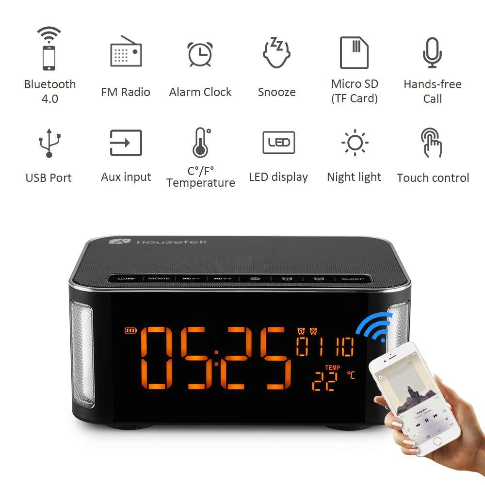 Amazon.com: TIAOTIAO Bluetooth Speake, inalámbrico con Audio ...