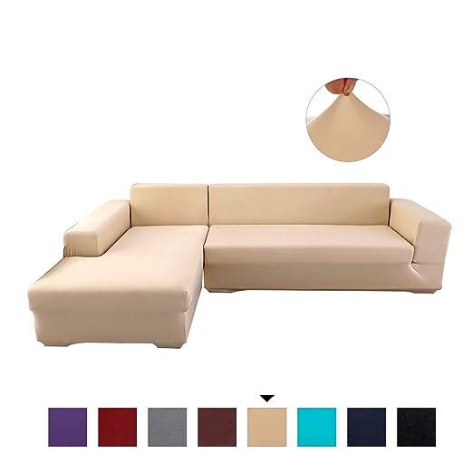 PETCUTE Fundas de sofá elasticas Protector de sofá Funda ...