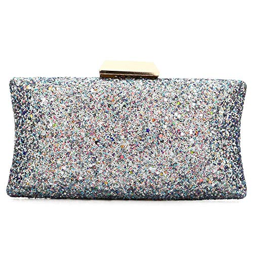 Sequins Bag Bag Handbags Clutch Fashion Clutch Purse Clutch Silver Evening Women 6CngxqtEfn