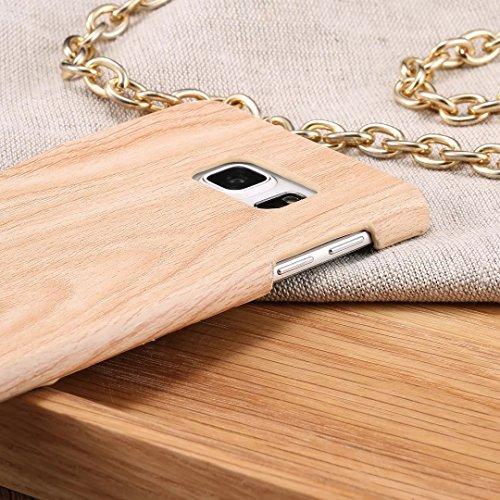 SRY-Funda móvil Samsung Funda de la cubierta SAMSUNG S6 EDGE PLUS, hermosa cubierta de patrón de grano de madera SAMSUNG S6 EDGE PLUS ( Color : F , Size : SAMSUNG S6 EDGE PLUS ) F