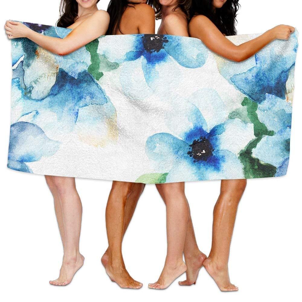 longkouishilong Serviettes Plage Draps de Bain Bath Towel Soft Big Beach Towel 31'x 51' Unique Soft Space Map Pattern Design