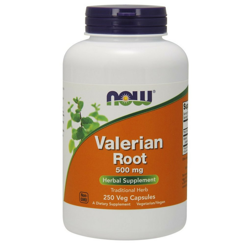 NOW Valerian Root 500 mg,250 Capsules