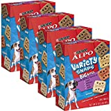 Cheap ALPO Variety Snaps Big Bites Dog Treats with Beef, Chicken, Liver & Lamb Flavors 32 oz. Box of 4