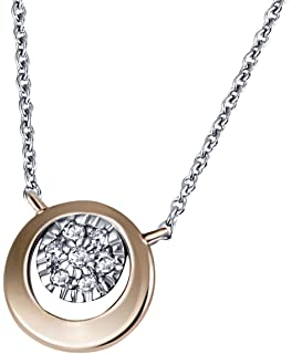 Rotgold schmuck damen  Goldmaid Damen-Ohrstecker 585 Rosegold 14 Diamanten 0,06 ct ...