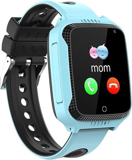 Niños Smartwatch Phone,Reloj Teléfono con GPS LBS Tracker Chat de ...