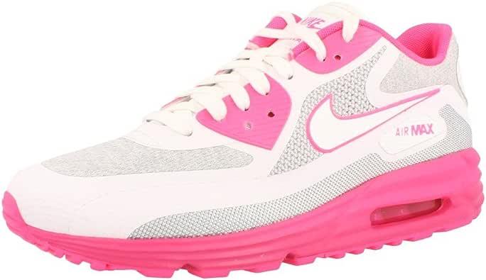 Nike Air Max 90 Essential, Zapatillas de running para mujer, (Pink Hypr Pnk White Lt Mgnt Vvd Pnk), 42 EU: Amazon.es: Zapatos y complementos