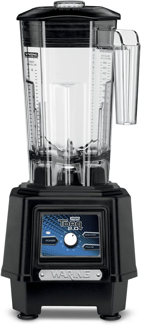 Waring Commercial TBB175 Blender with Variable Speed Control, Black