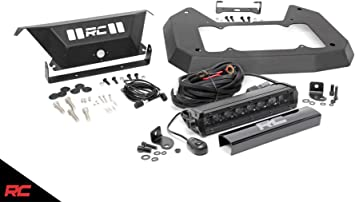 Rough Country Spare Tire Carrier Delete Kit Compatible w// 2018-2020 Jeep Wrangler JL 10560