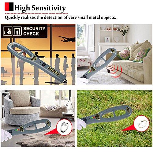 Hand Held Metal Detector,V-Resourcing Portable High Sensitivity Metal Detector for Security Inspection by V-Resourcing (Image #5)