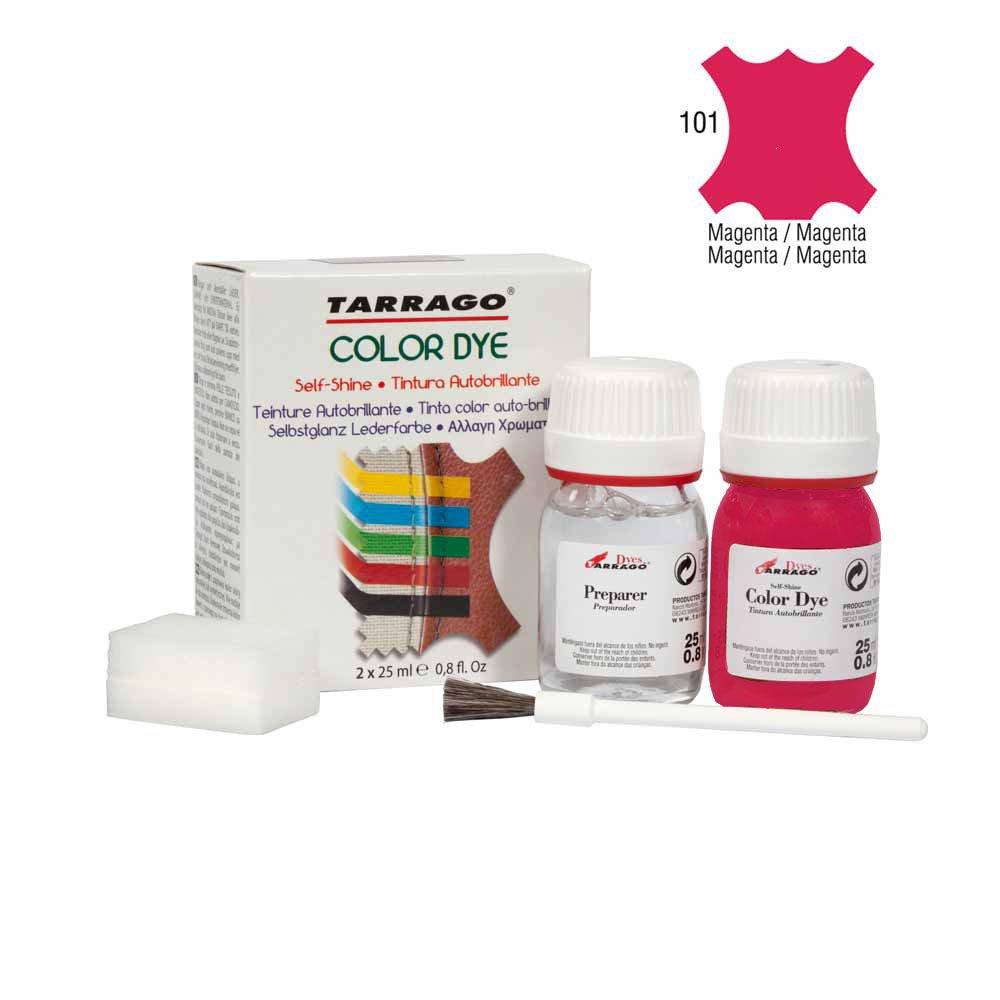 Tarrago Self Shine Shoe Colour Dye (Magenta #101)