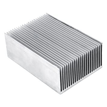 Aletas del Radiador de Aluminio Amplificador de Transistor para el Dispositivo Semiconductor de alta Potencia LED
