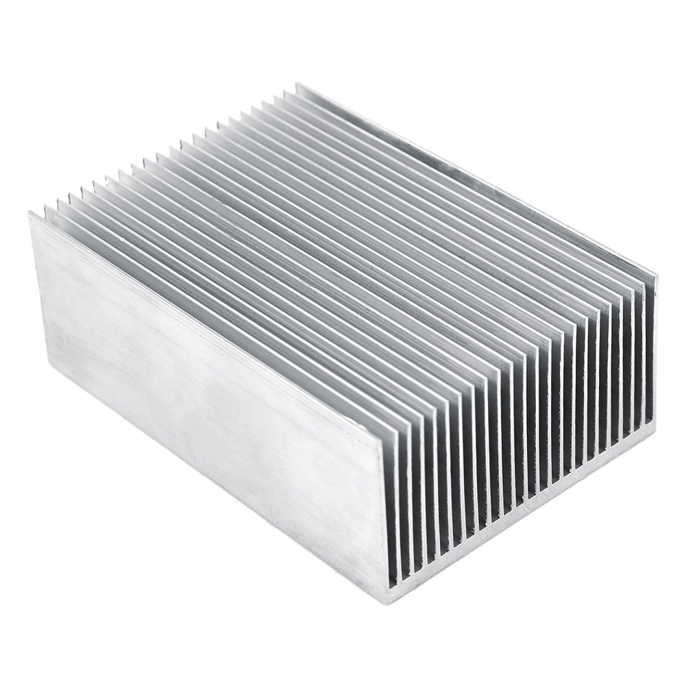 1 Set Aluminum Heat Sink Cooling Fin Cooler For Led Amplifier Transistor IC Module Or Computer,100(L)x 69(W) x 36 mm(H) by Hilitand (Image #6)