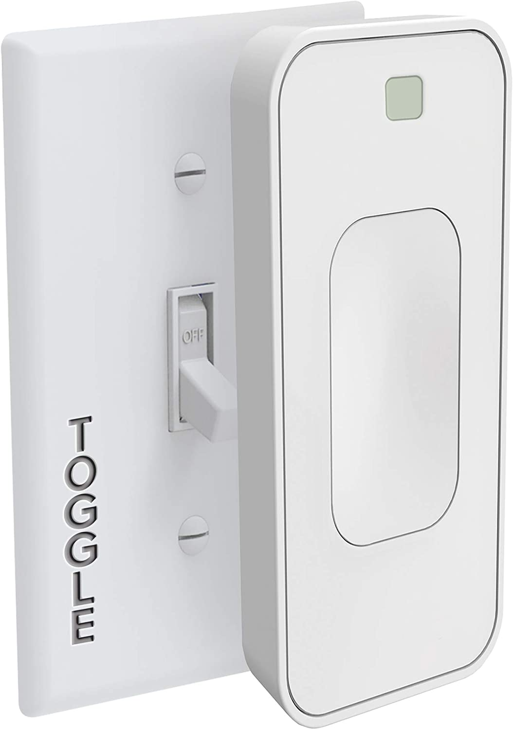 Switchmate Slim for Toggle Light Switches by SimplySmart Home, Timer, Automation, DIY, Snap On, No Tools/Wiring, Smart Lighting, Smart Home, Bluetooth, Google Assistant, App, Motion Sensor/Detector