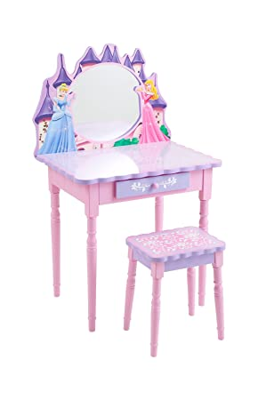 Pleasing Disney Princess Cinderella Vanity And Stool Set Amazon Ca Baby Andrewgaddart Wooden Chair Designs For Living Room Andrewgaddartcom