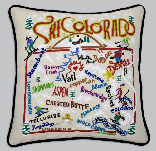 Catstudio Ski Colorado Pillow