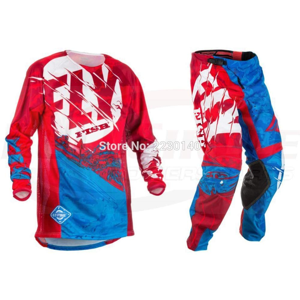 Combinaciones | Fly Fish Pants & Jersey Combos Motocross MX ...