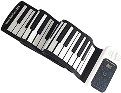 Pianos Teclados Hand Roll 88 Teclas Plegable Inicio ...