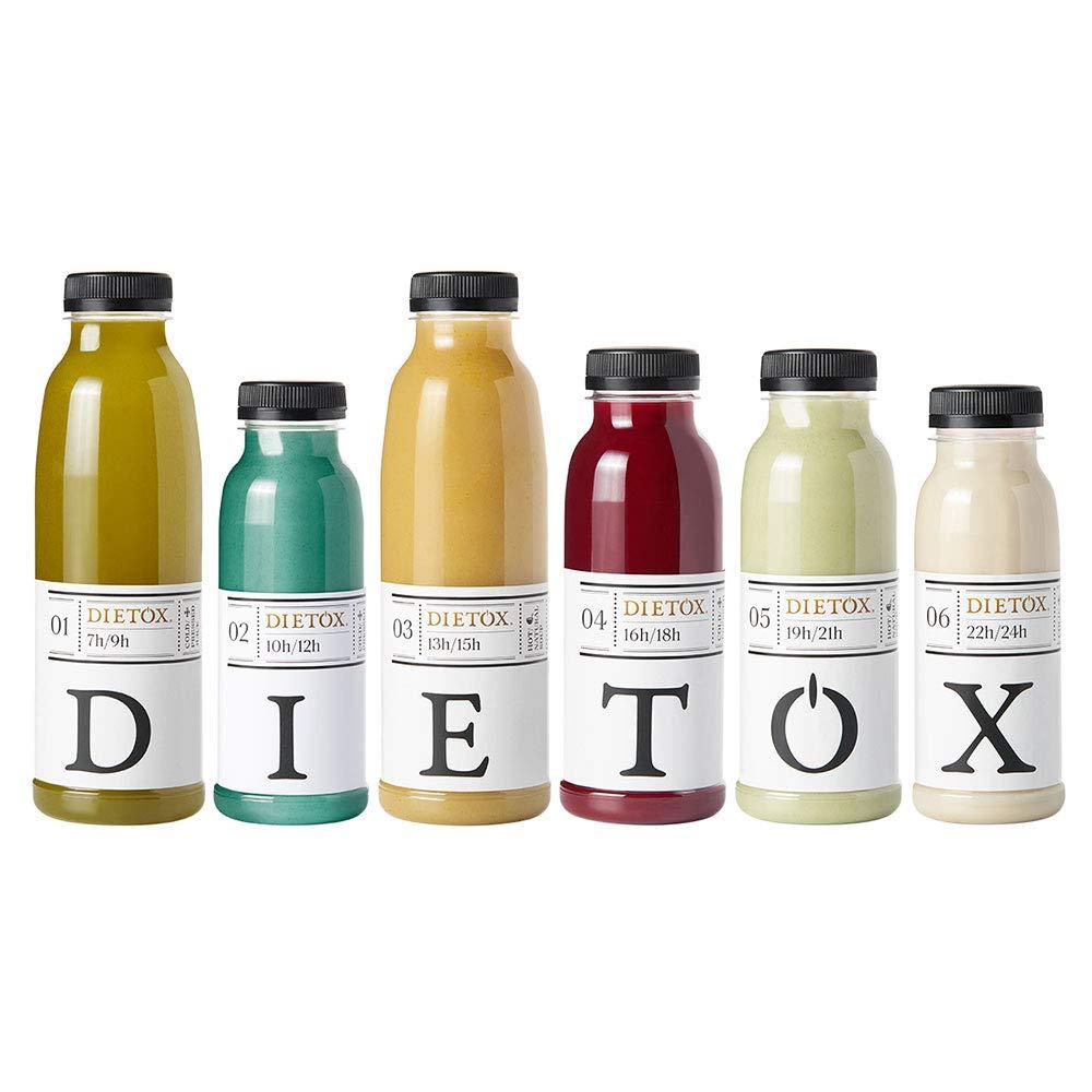 Zumos Detox 1 día - Licuados 100% frescos la auténtica terapia detox: Amazon.es: Salud y cuidado personal