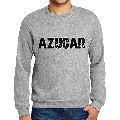 Ultrabasic Men/'s Printed Graphic Sweatshirt Popular Words Trip Grey Marl