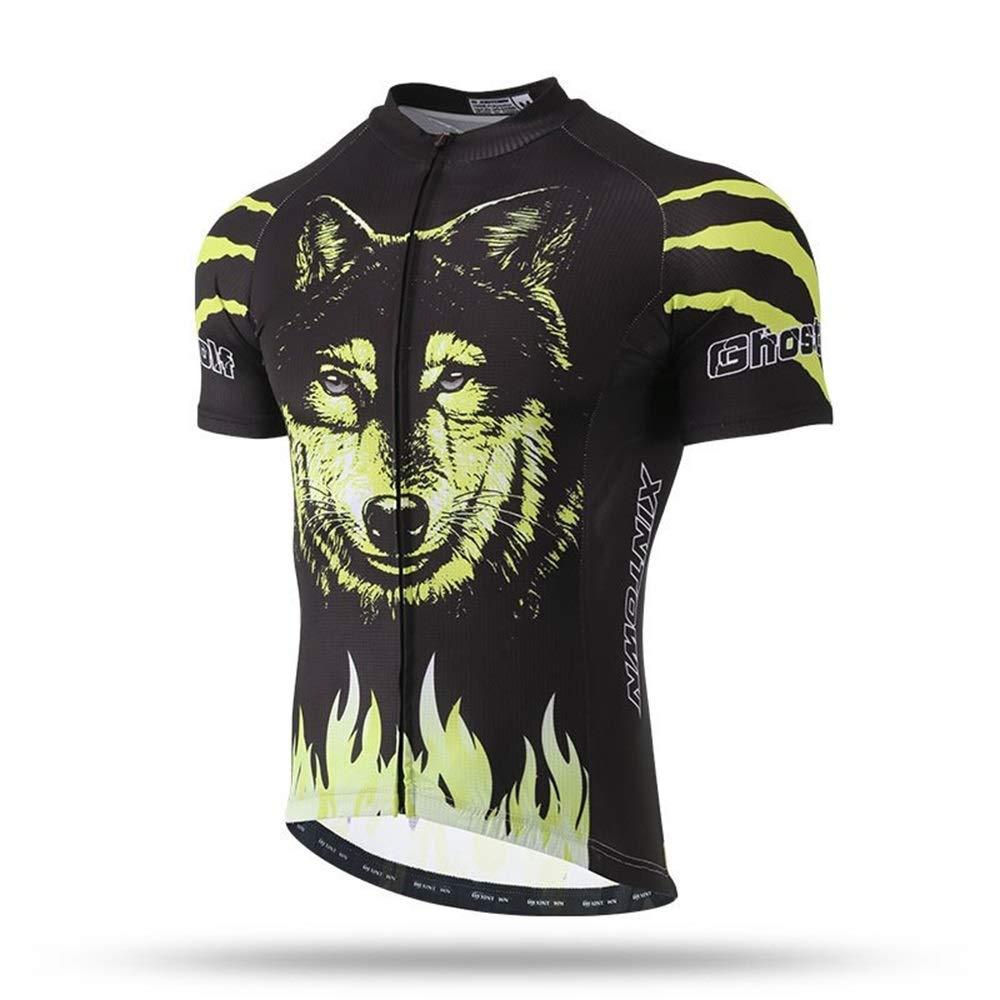 Sommer Kurzarm Beast Shirt Top Herren Jersey Kurzjacke Sport Wandern Laufen Bekleidung Fahrrad Trikot LPLHJD
