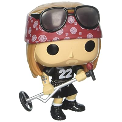 Rocks: Axl Rose Action Figure: Toys & Games