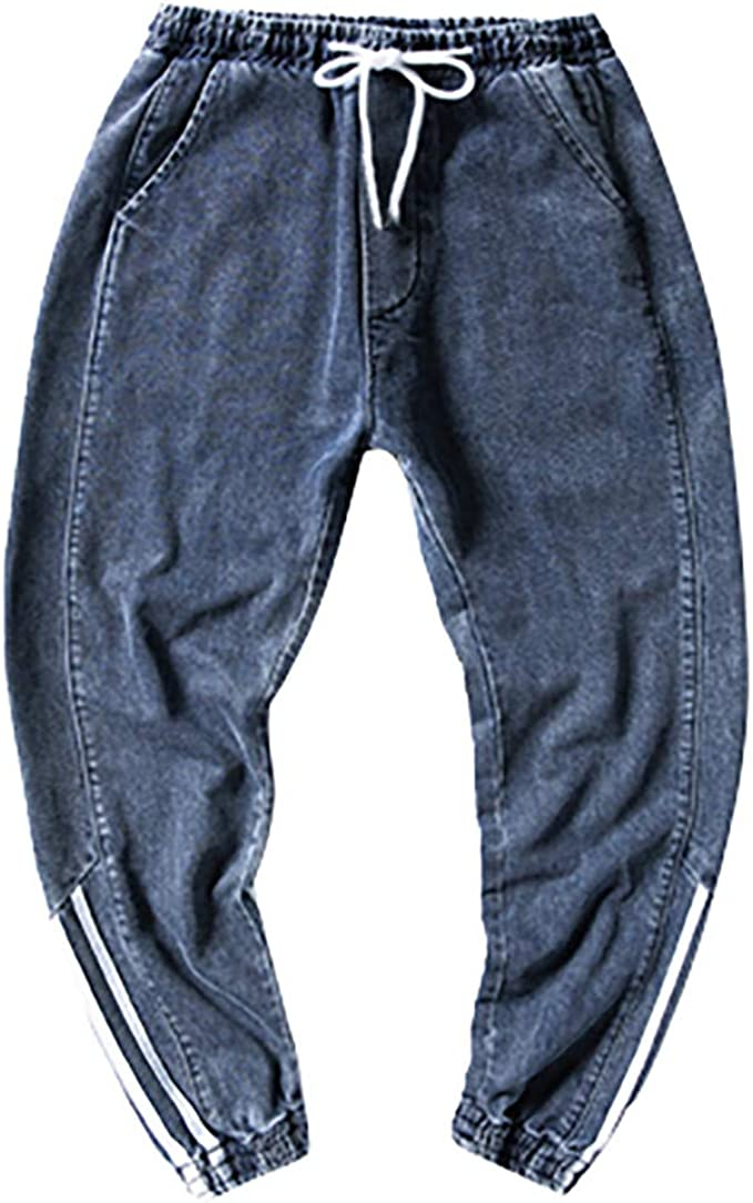 Hombre Pantalon de Trabajo Tallas Grande Pantalones Vaqueros ...