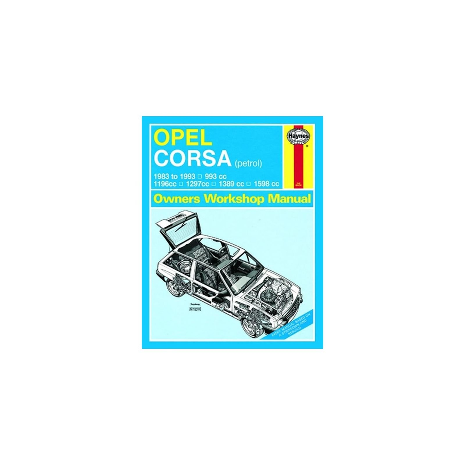 Opel Corsa ('83 to '93) (Service & repair manuals) Hardcover – Import, 2  Aug 1995
