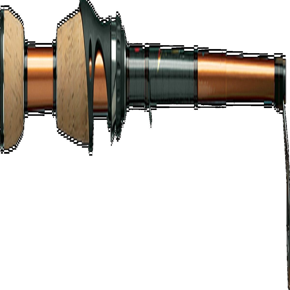Berkley Lightning Rod Shock Spinning Rod (6-Feet 6-Inch - 2 Piece - ML - MF) by Berkley
