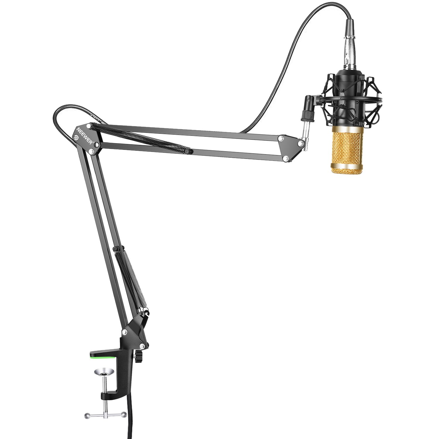 Neewer NW-800 Professional Studio Broadcasting Recording Condenser Microphone & NW-35 Adjustable Recording Microphone Suspension Scissor Arm Stand 90088313