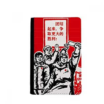 beatChong Libro De Papel Bolso Presidente Masas Mao Tarjeta ...
