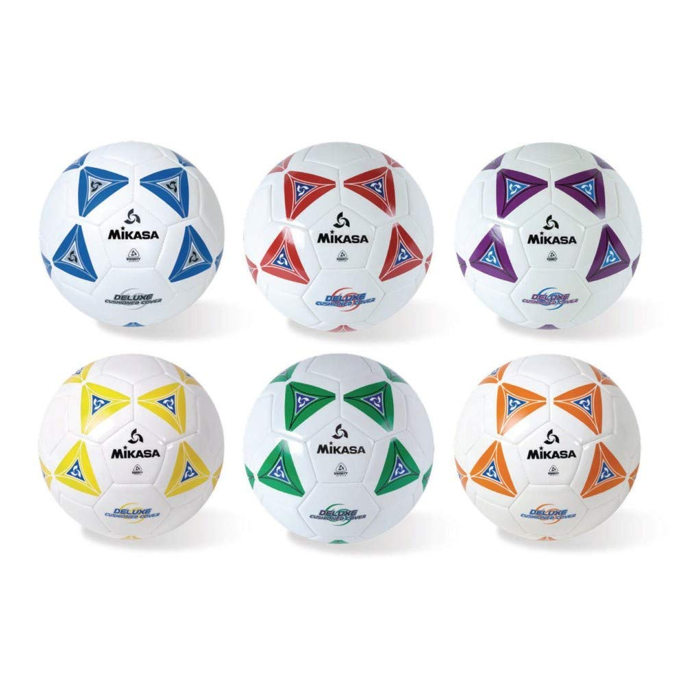 Soccer Ball Set, Size 4, Assorted: Amazon.es: Amazon.es