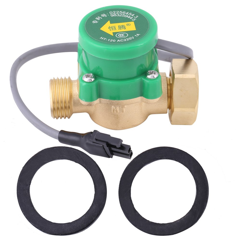 Pump Flow Control Switch G3/4 Female to G1/2 Male Thread for Booster Pump