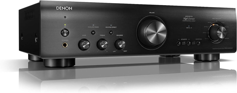 DENON PMA-800 - Amplificador estéreo, Color Negro: Amazon.es: Electrónica