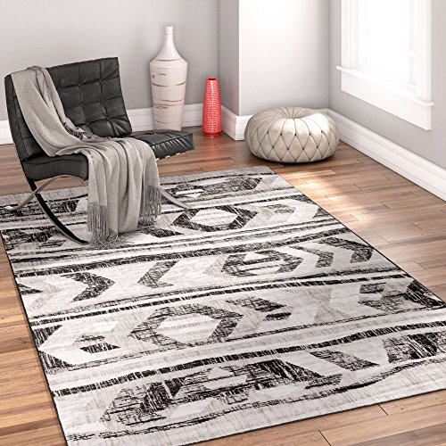 bright-moon-grey-southwestern-modern-tribal-lines-5-x-7-53-x-73-area-rug-easy-clean-stain-fade-resis