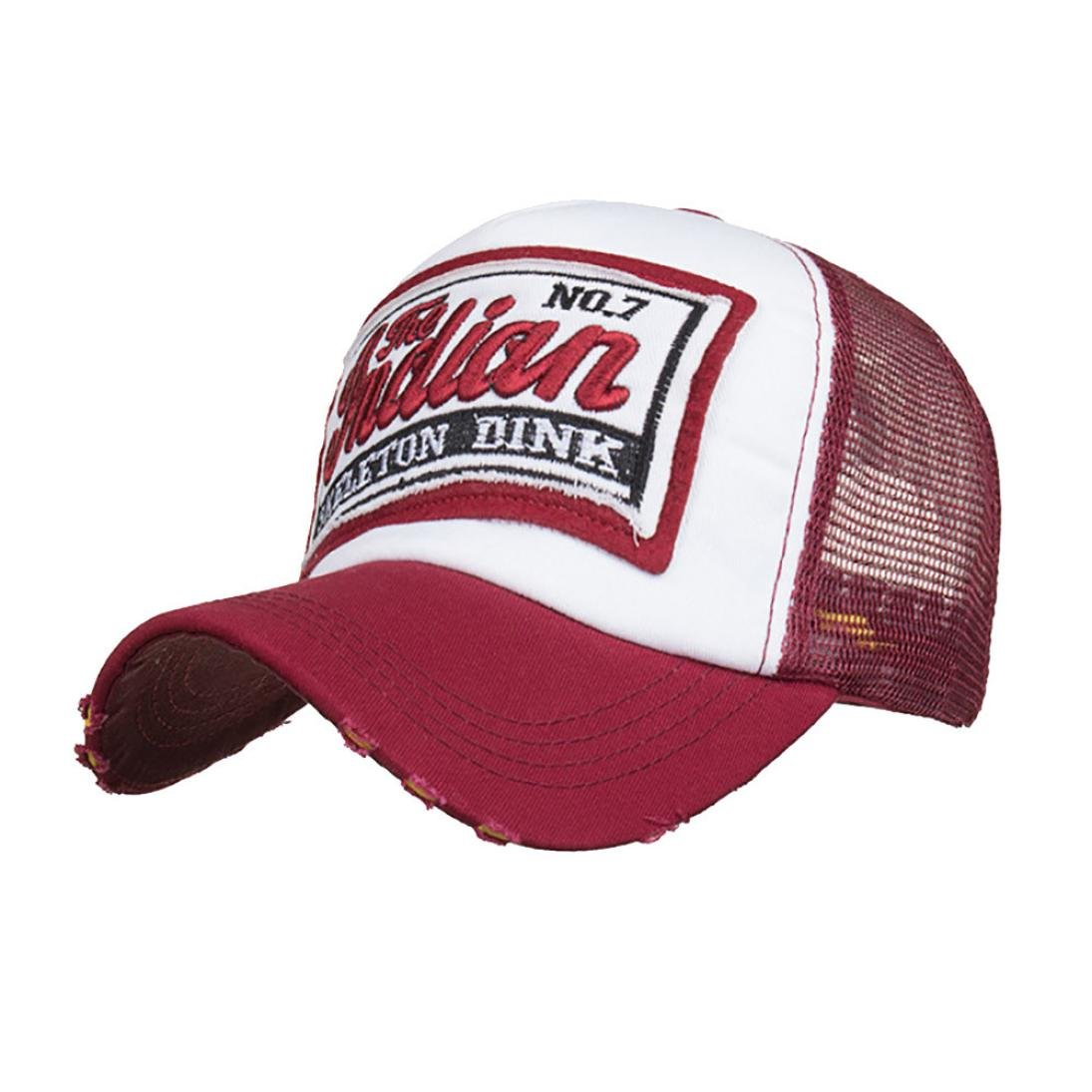 WOCACHI Hats And Caps Embroidered Summer Cap Mesh Hats Hip Hop Baseball Caps US-Y5765846673