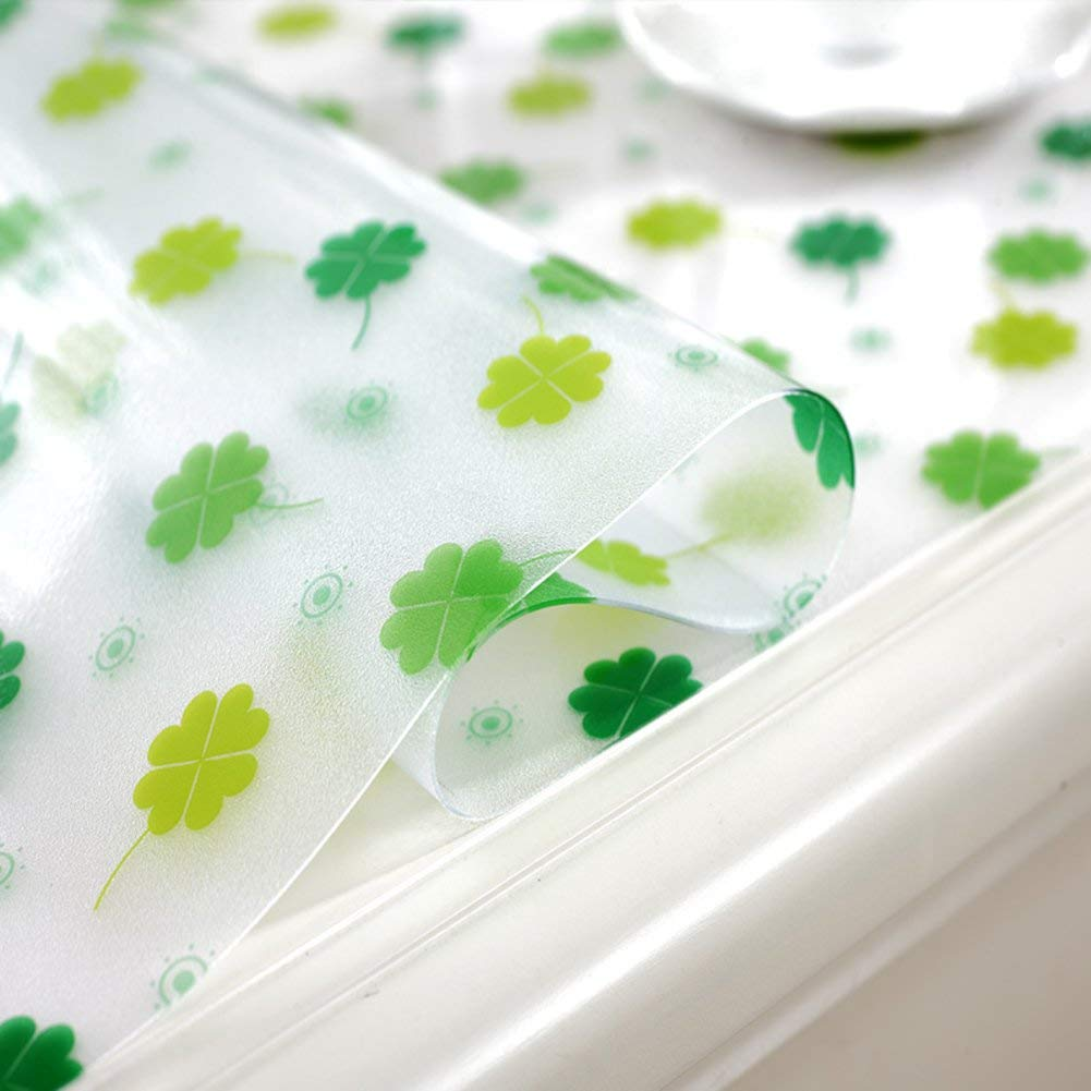 Hanpiaotech 防水ポリ塩化ビニールのテーブルクロス、台所ダイニング居間のコーヒーテーブルおよび机のためのテーブルカバーの使い捨て可能なoilesistant (Color : F, サイズ : 60x100cm(24x39inch))   B07RQRSYD5