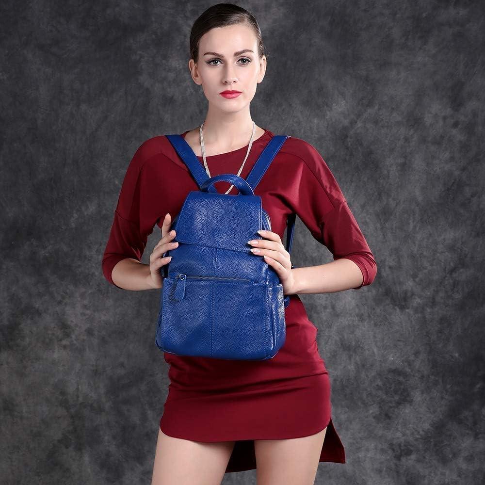 SMEJS Zaino da Donna - Borsa a Tracolla alla Moda Zaino Borsa da Viaggio in Pelle da Donna for Donna Zaino da Donna (Color : H) D