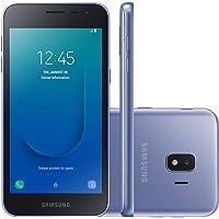"Smartphone Samsung Galaxy J2 Core 16GB Dual Chip Android 8.1 Tela 5"" Quad-Core 1.4GHz 4G Camera 8MP - Prata"