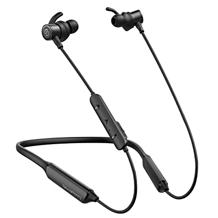 famous brand differently fast delivery SoundPEATS Bluetooth Headphones, Force Wireless Neckband Headset Stereo  Bass in-Ear Magnetic Earbuds for Workout (16 Hours Playtime, Built-in Mic,  CVC ...