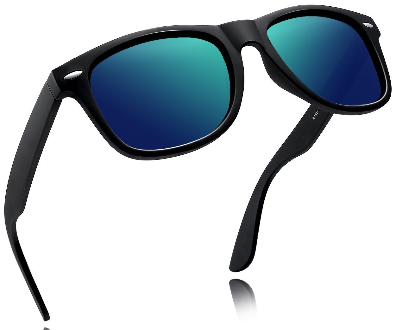 Joopin-2016 Retro Men Polarized Sunglasses Women Brand Sun Glasses Polaroid Lens With Box (Green) by Joopin