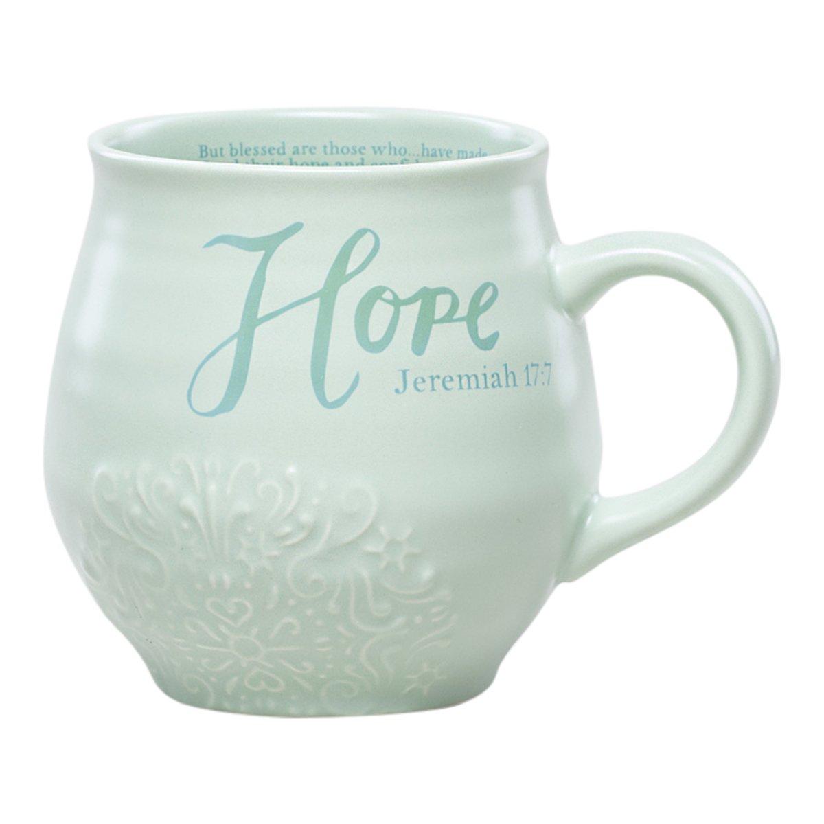 Stoneware Mug - Hope - Jeremiah 17:7 DaySpring Company 68730