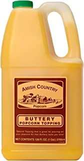 product image for Amish Country Popcorn | Buttery Popcorn Topping - 1 Gallon | Old Fashioned with Recipe Guide
