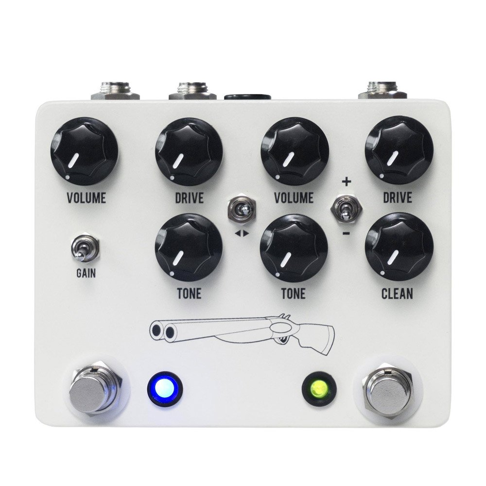 JHS Double Barrel V4 Dual Overdrive Pedal