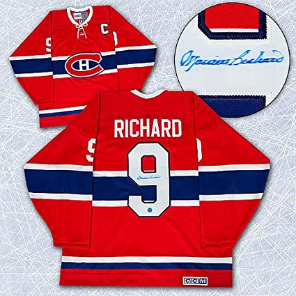 Image Unavailable. Image not available for. Color  Maurice Rocket Richard  Montreal Canadiens Autographed Retro CCM Hockey Jersey ... 1d851fec8