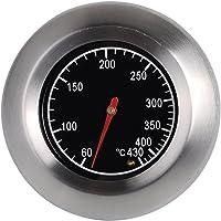 PIXNOR 7,6 cm Outdoor Edelstahl BBQ Backofen-Thermometer