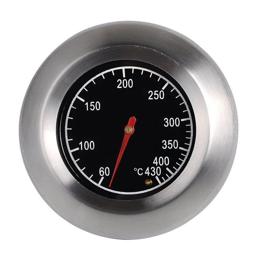 OUNONA Thermometer BBQ Smoker Grill Thermometer f/ür alle Grills analog Grillzubeh/ör Smoker R/äucherofen und Grillwagen