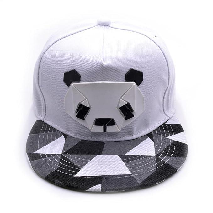Sombrero del panda del béisbol deportes de la mujer del hombre,QinMM gorra de Hip-Hop de la bola de golf de Snapback
