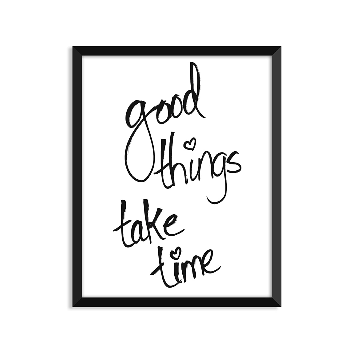 Good Things Take Time – UnframedアートプリントポスターまたはGreeting Card A2 Greeting Card B074ZZY6PQ  A2 Greeting Card